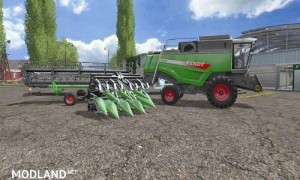 Fendt Harvester Pack MR / GB v 1.0, 2 photo